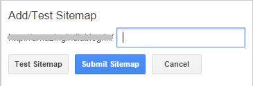 Google Site Verification Add or Test a Sitemap