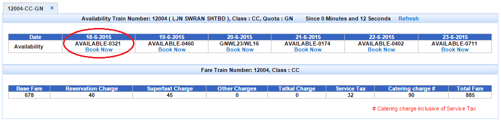 Book Train Ticket Online Indian Railway Availability