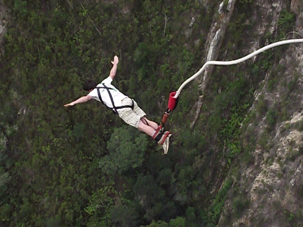 Adventure Sports in Rishikesh Bungee Jumping