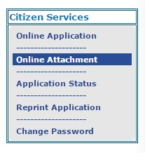 Online Attachment
