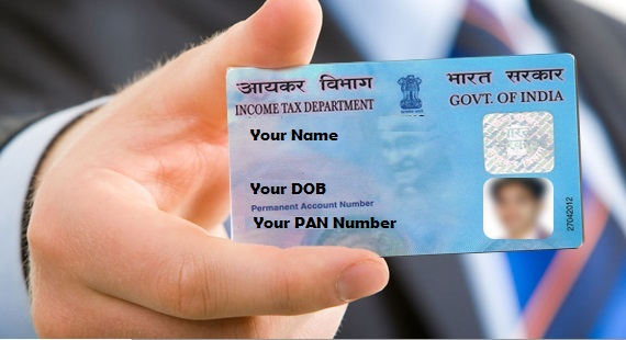 Documents for Pan Card