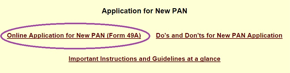 How To Apply For Pan Card In India Online Procedure