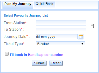 Book Train Ticket Online Indian Railway plan my journey