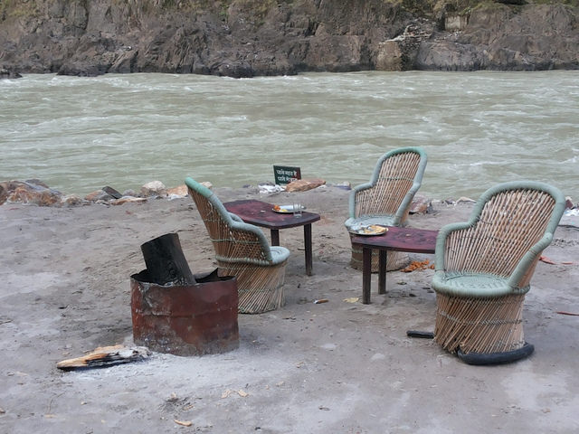 Beach Camping Location in Rishikesh