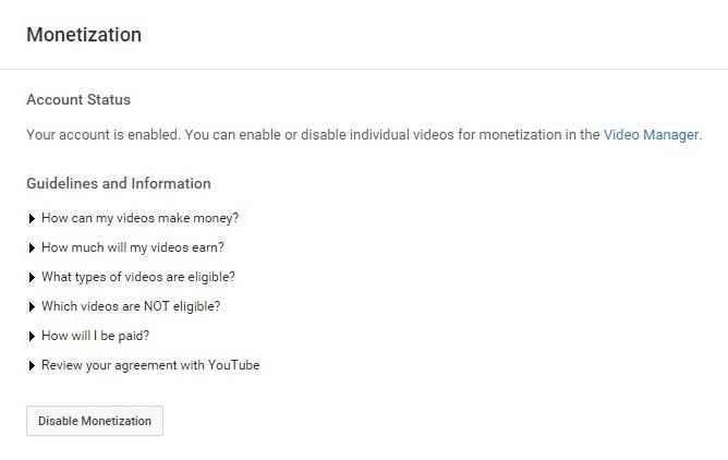 How to Set Up Google Adsense on YouTube