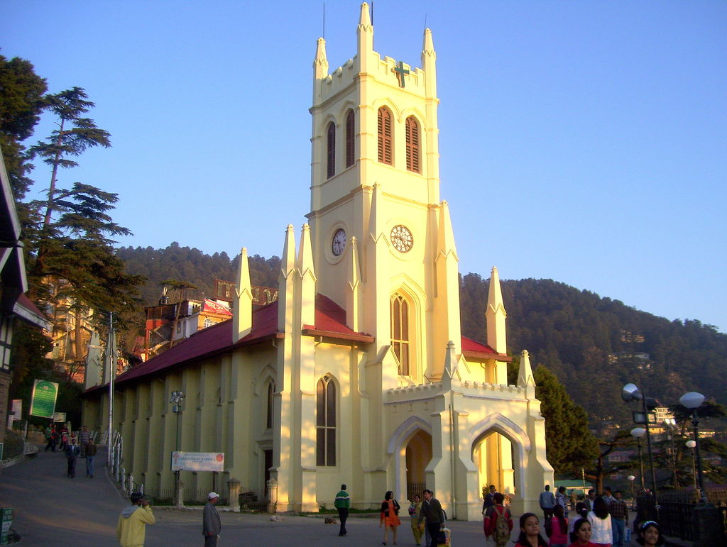 Christ Church Picture: 8 Best Tourist Places In Mussoorie, Uttarakhand