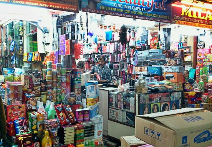Gaffar Market in Delhi