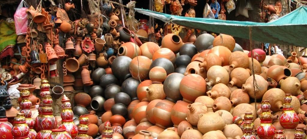 Matka Market in Delhi