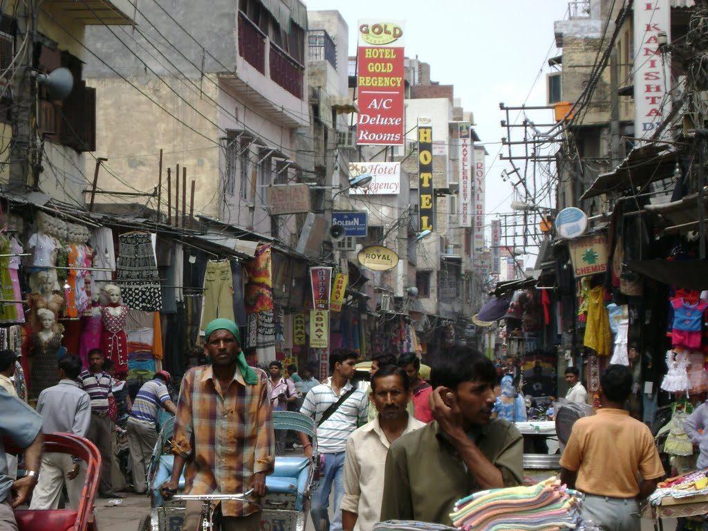 Paharganj Market in Delhi