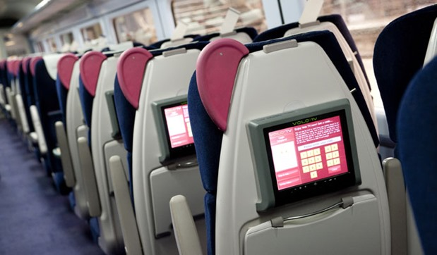 Gatimaan Express LCD Screen