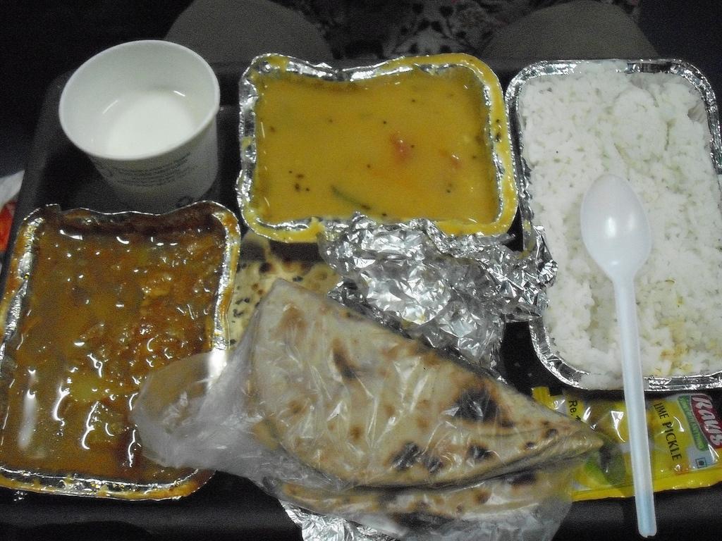 Irctc railway food