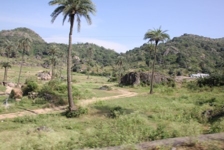 A roadside view of Mount Abu