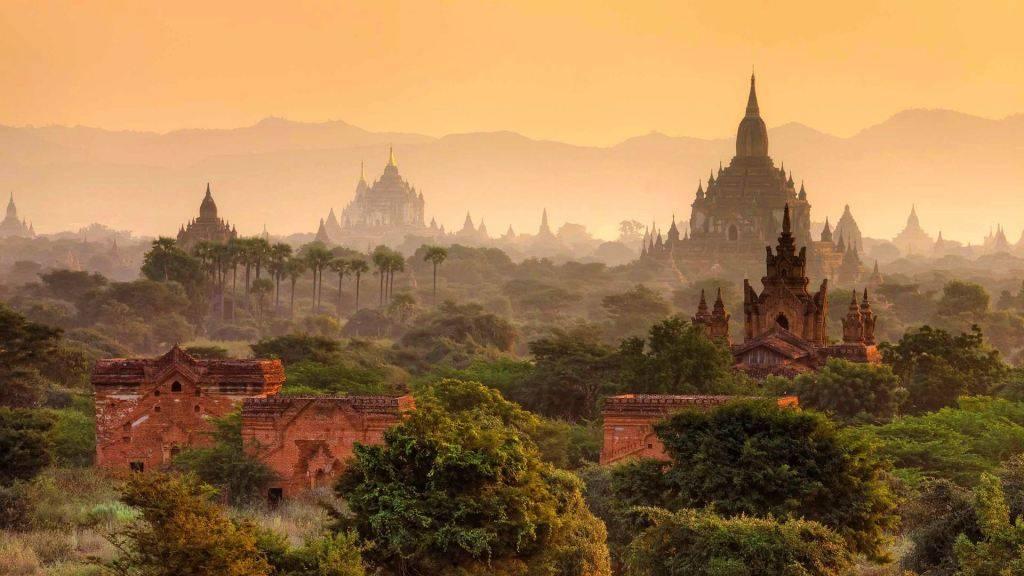 Bagan Ruins Myanmar