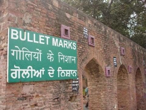 Bullet Marks Jaliyawala bagh