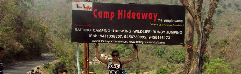 Camp Hideaway, Rishikesh