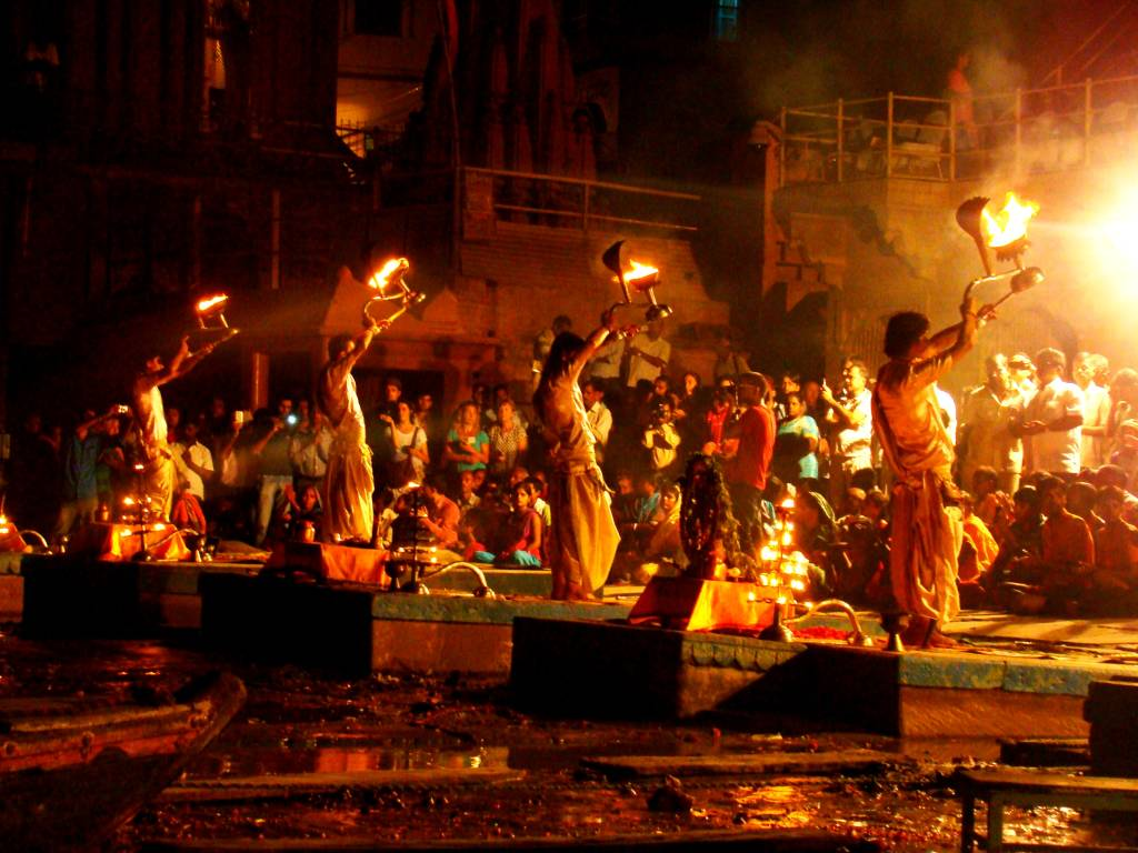 Ganga Aarti Celebrations
