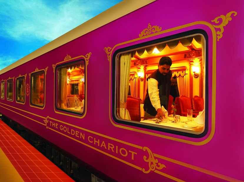 Golden Chariot South India : Luxury Trains in India