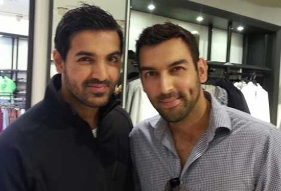 John Abraham and Mushbir Malik (British Broadcaster and Writer)