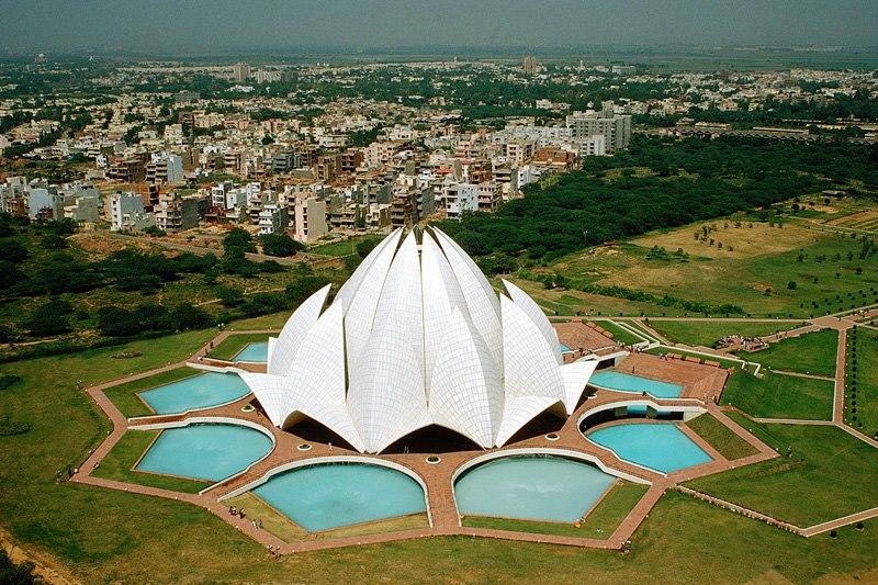 Lotus Temple : Delhi to Bangkok Via Myanmar Asian Highway