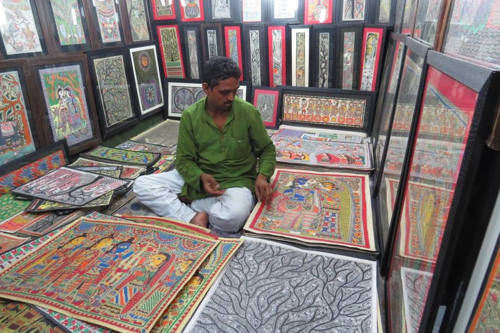 Madhubani Art at Dilli Haat