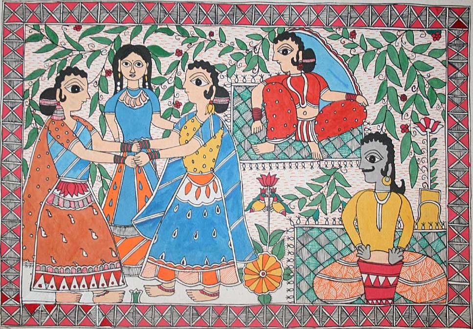 Madhubani Art Origin