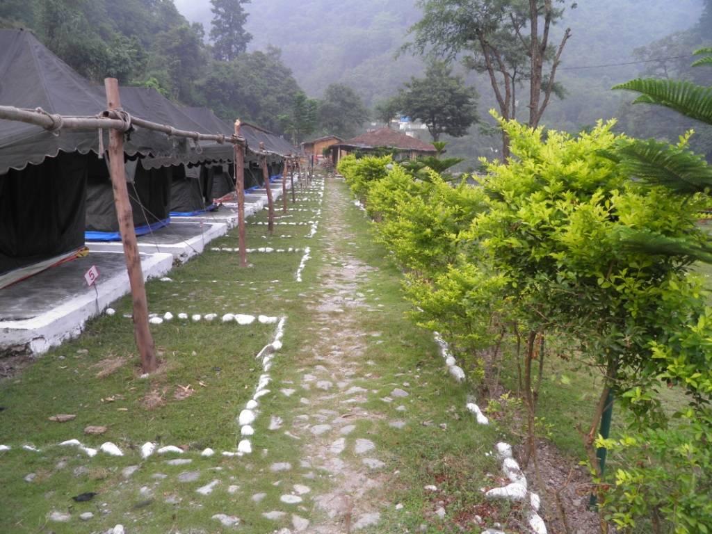 Tents at Rishikesh