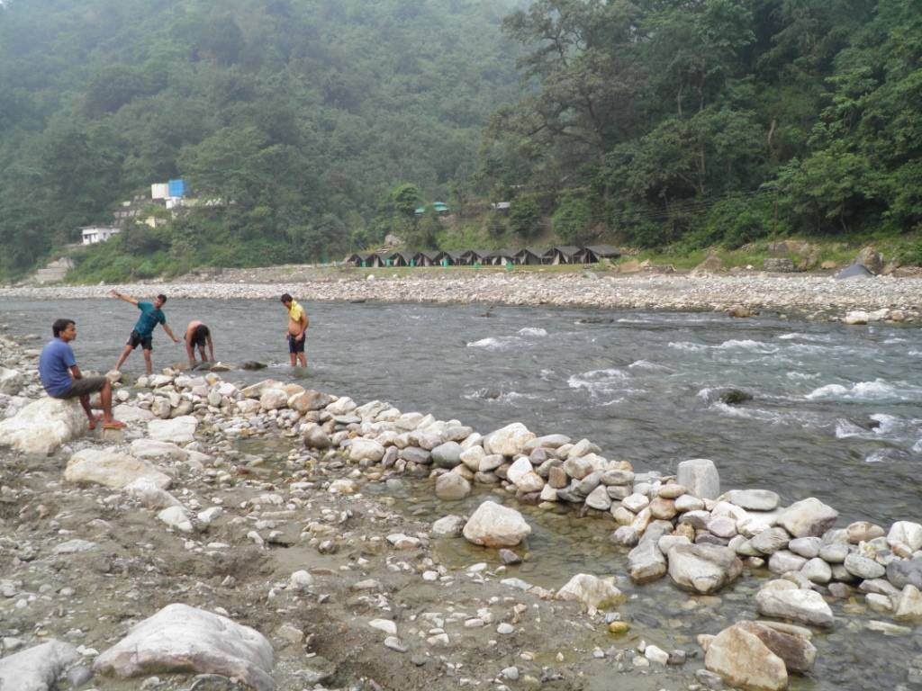 River Side Area, Hideaway Camp, Rishikesh