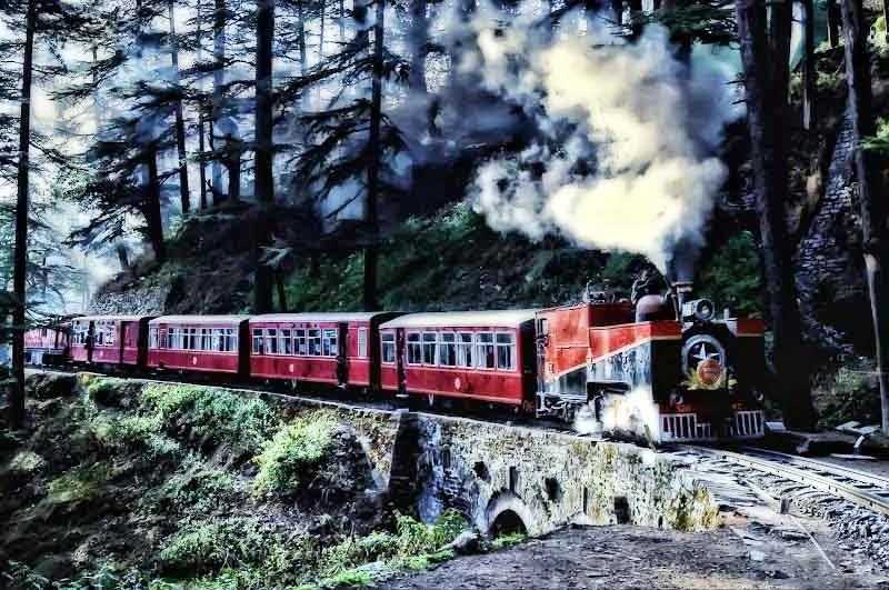 Kalka Shimla Toy Train 1