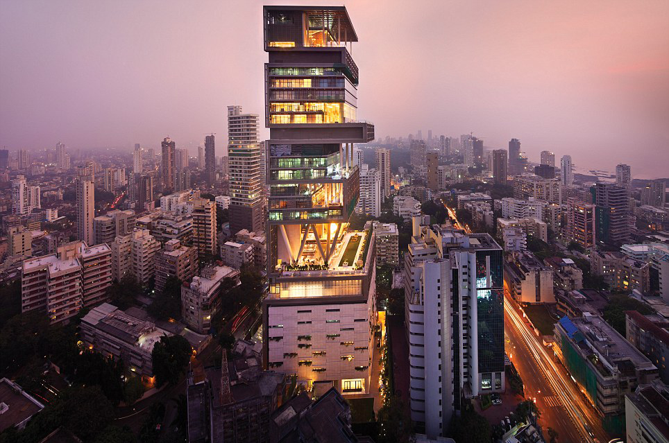 Antilia the 2nd most expensive house in the world