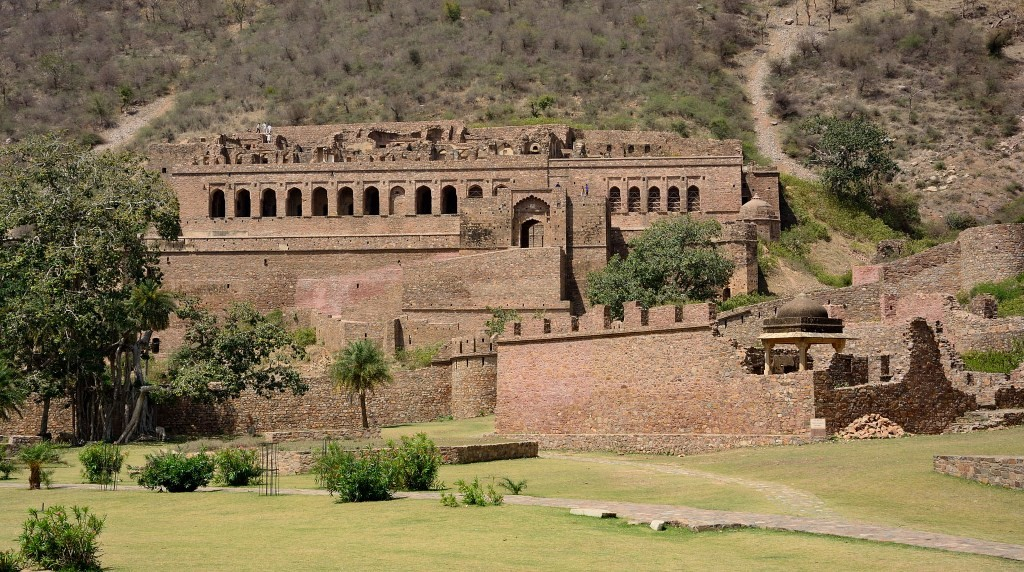 Bhangarh Fort Front View