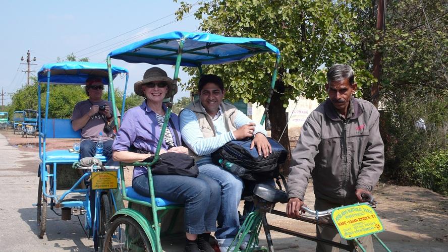 Bharatpur Sanctuary Rickshaw