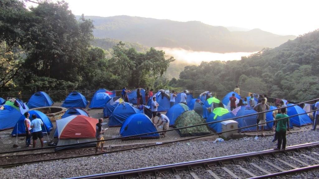 Dudhsagar Camping