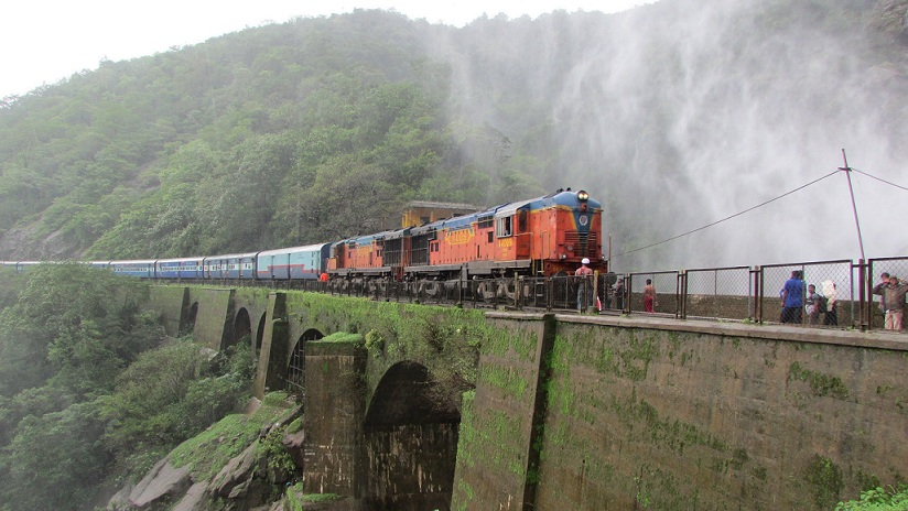 Dudhsagar Falls Train
