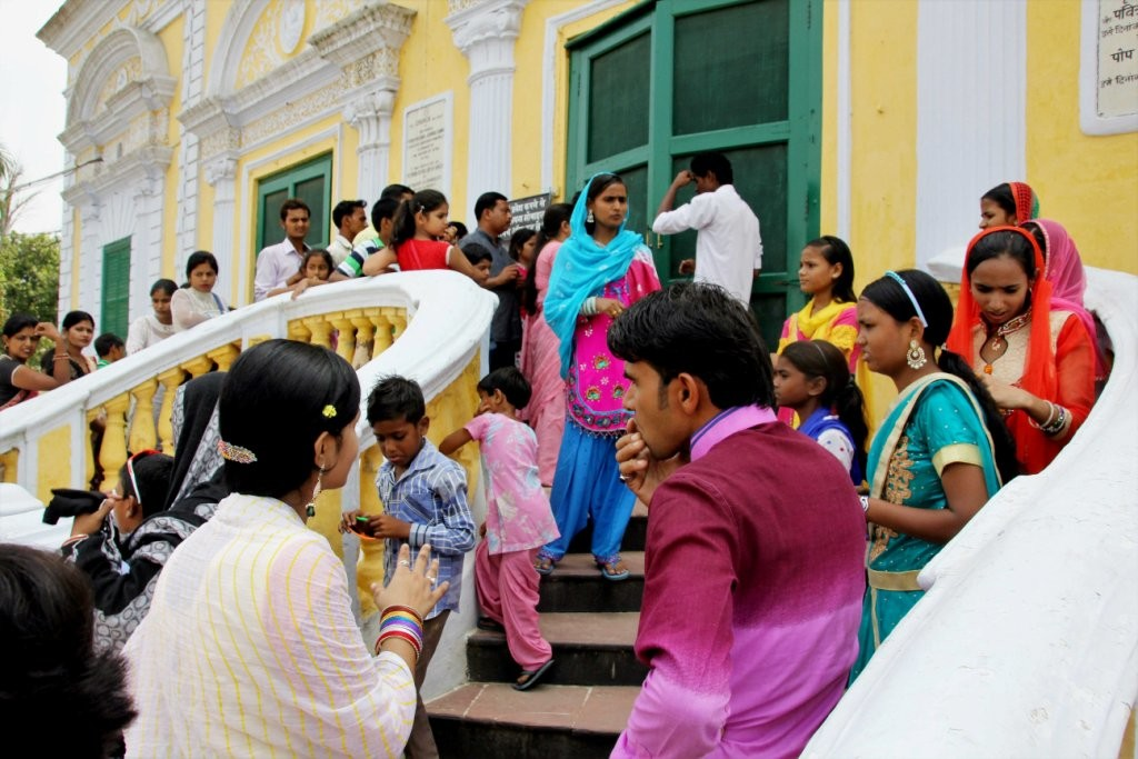 Sardhana Cathedral Tourists