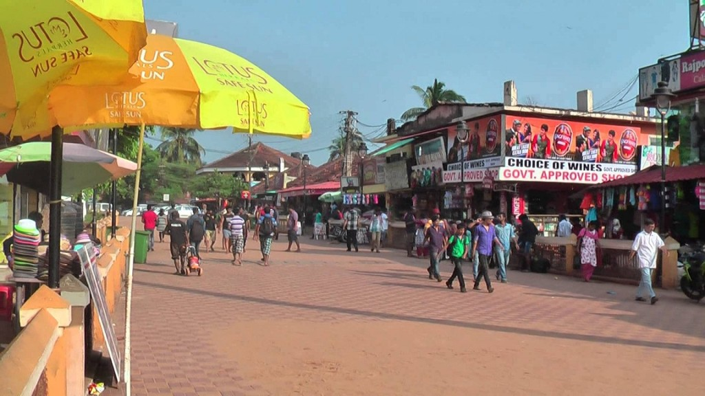 Calangute Street Shopping