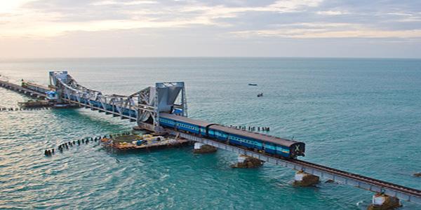 Pamban Bridge Evening