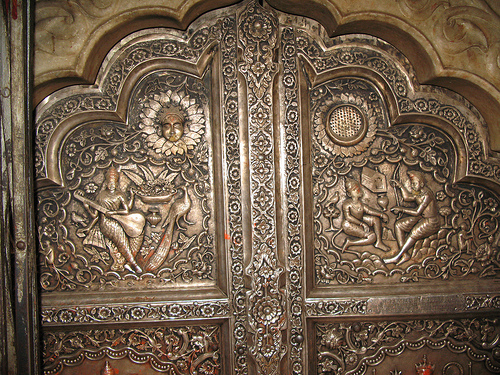 Silver Door of Karni Mata Temple, Deshnok