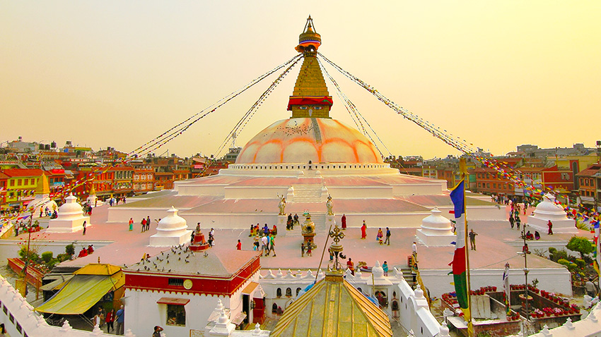 Bodhanath Stupa Kathmandu : Best Countries to Visit from India