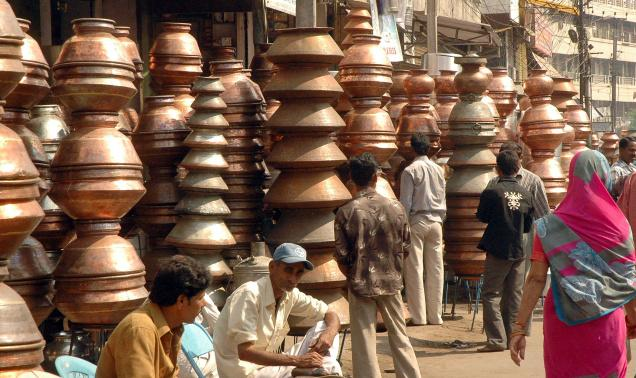 Pot Market, Hyderabad