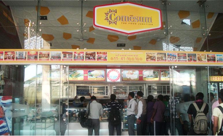 Comesum, Nizamuddin Railway Station