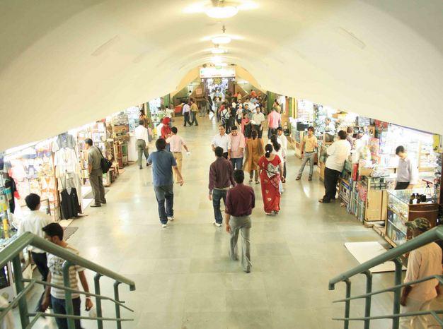 Palika Bazaar, Delhi