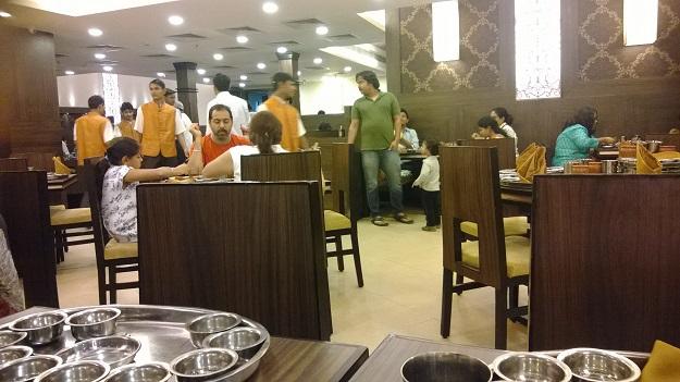 Rajdhani Thali Restaurant, Saket, Delhi