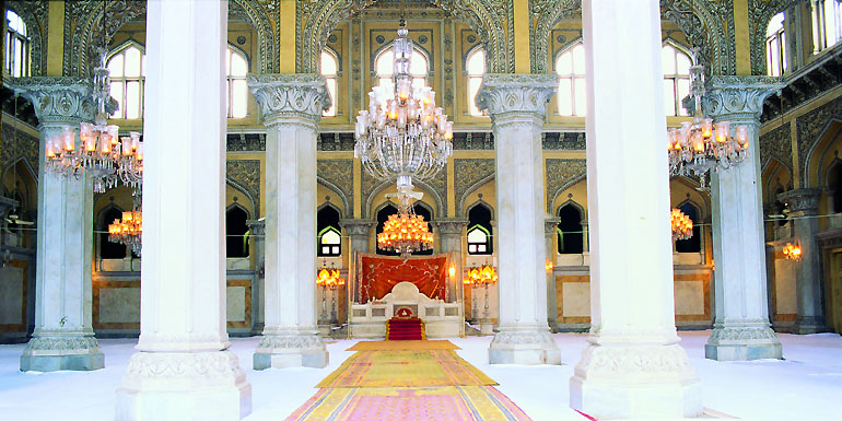 Chowmahalla Palace Interiors
