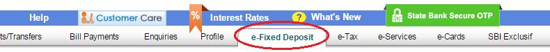 how to break fixed deposit in sbi online