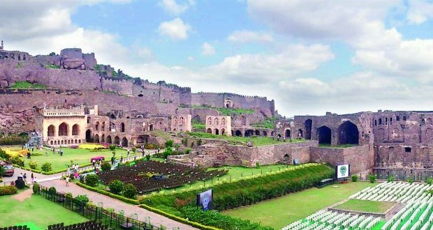 Golconda Fort on Independence Day