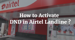 How to Activate DND in Airtel Landline