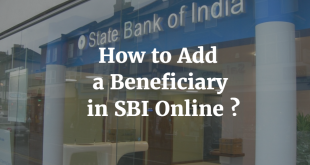 How to add a Beneficiary in SBI Online