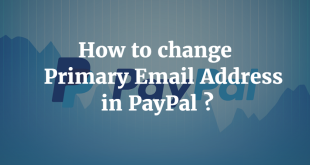 How to change Primary Email Address in PayPal