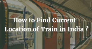 How to find Current Location of Train in India
