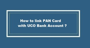How to link PAN Card with UCO Bank Account